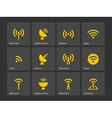 Radio Tower icons vector image