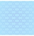 Repeating geometric tiles with triangles seamless vector image