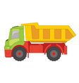 truck toy vector image