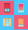 set of varied interior items vector image