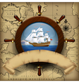 Navigation template vector image