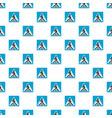 pedestrian pattern seamless vector image