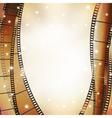 vert film background vector image vector image
