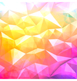background low poly vector image vector image