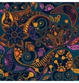 Paisley seamless pattern vector image vector image