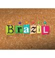 Brazil Concept vector image