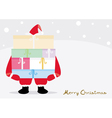 Christmas Card2 vector image