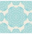 Vintage seamless ornamental design vector image