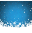 snowflakes and stars 2008 vector image