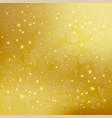 abstract golden background with sparkling shiny vector image