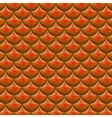 Seamless red river fish scales vector image