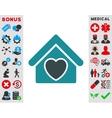 Hospice Icon vector image