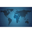 world map background vector image vector image