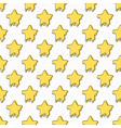 star symbol seamless pattern vector image
