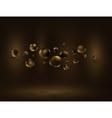Chocolate bubble vector image