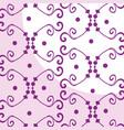 Elegant victorian style background vector image