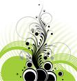 vegetative composition vector image