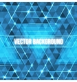 Abstract geometric background with glowing vector image