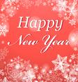 Congratulatory Christmas Background vector image