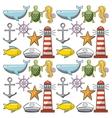 sea life conceptual poster vector image