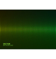 a Green Music Equalizer vector image