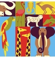 Conceptual of Africa vector image