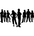 Friends design vector image