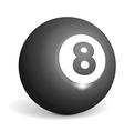 Billiard Ball vector image vector image