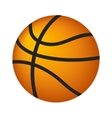 Basketball ball isometric 3d icon vector image