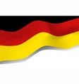 national symbol of germany flag vector image