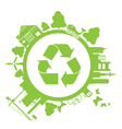 Save green vector image