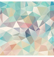 composition with triangles geometric shapes vector image