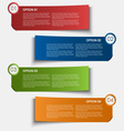 Information options tags design element vector image