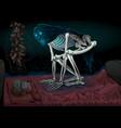 sleep paralysis vector image
