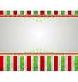 christmas background with snowflakes and decorativ vector image