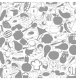 Meal a background vector image vector image