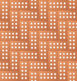 Brick pattern background vector image vector image