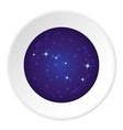 Space icon cartoon style vector image
