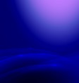 Abstract blue smooth flow background vector image