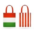 Color Sale Bag Set vector image vector image