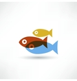 Fish eco Icon vector image vector image