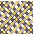 golden brown mosaic background vector image