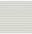 diamond jewels background pattern on white vector image