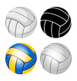 Volleyball balls set vector image