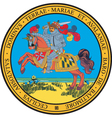 Maryland Seal vector image