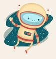 astronaut vector image