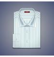 mens classic shirt vector image vector image