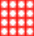 Tiles made of red diamond vector image