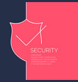 modern linear background for protection vector image