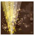 Festive background luminous rays vector image